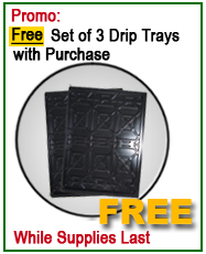 Auto Lift Free set of 3 drip trays offer