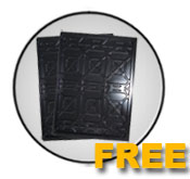 Auto Lift Free set of 3 drips trays offer