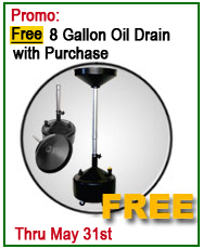 Dannmar Lift Free DO-8 Oil Drain Offer
