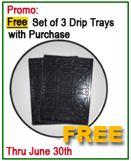Dannmar Lift Free set of drip trays offer