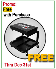 Dannmar Lift Free Rolling Work Seat Offer