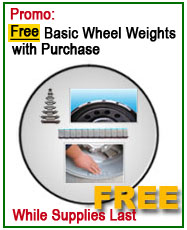 Nationwide Free set of basic wheel weights offer