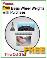 Talyn Free set of basic wheel weights offer
