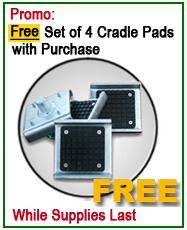 Dannmar Lift Free Frame Cradle Pads